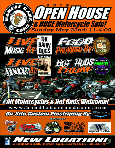 motorcycle open house